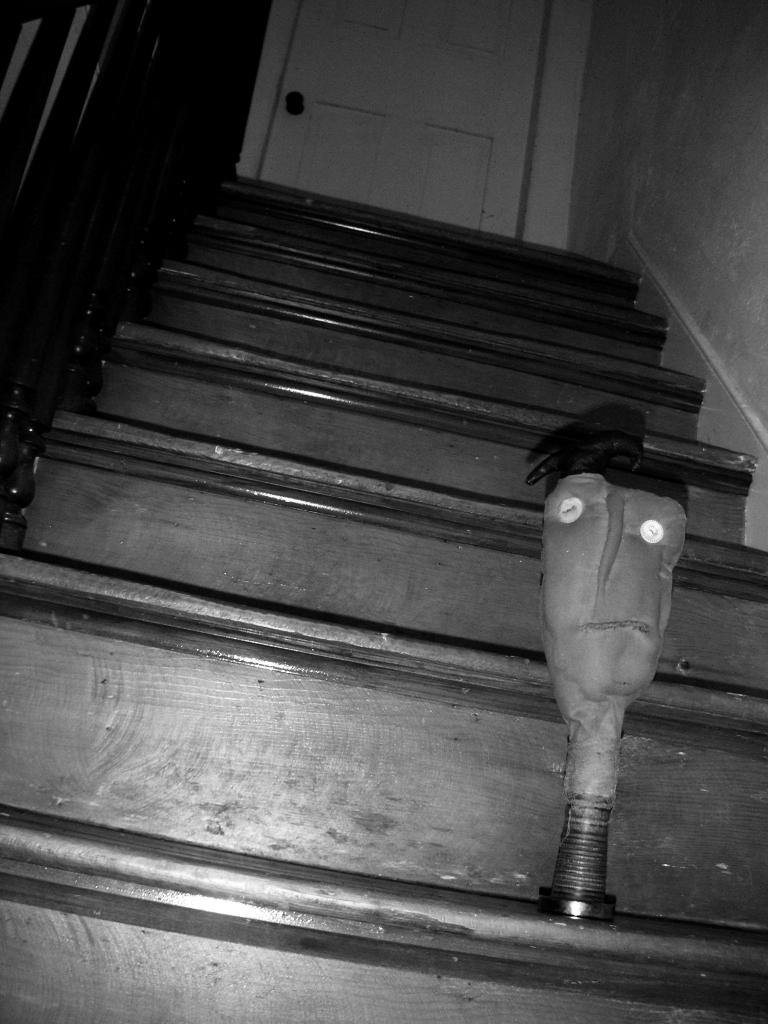 Primitive Guy Stair Walking